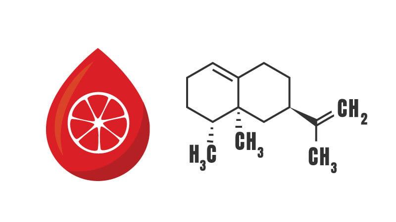 Chemical Formula of Valencene